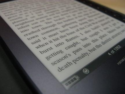 eBook con tecnologia eInk