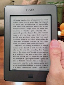 Kindle di Amazon