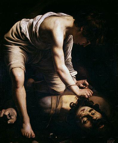 Davide e Golia, di Caravaggio